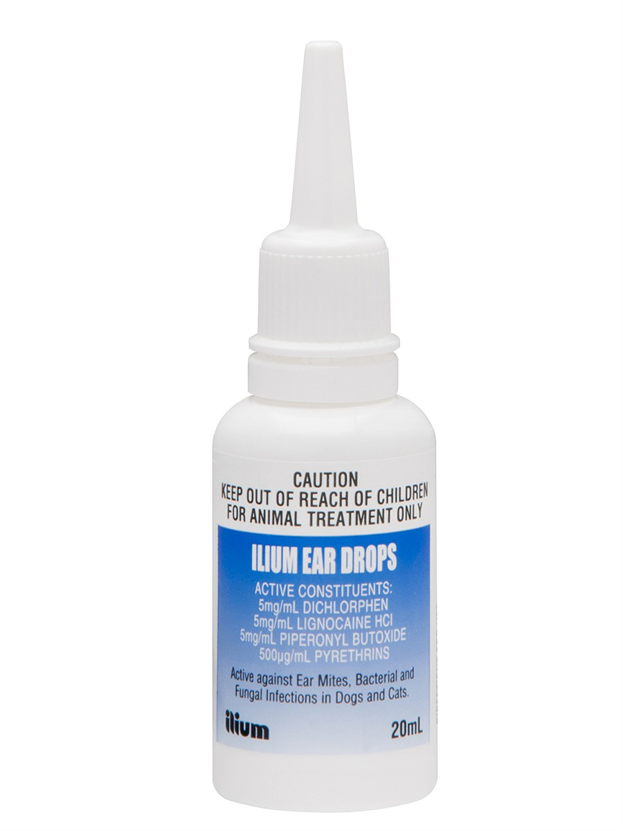 Troy Ilium Ear Drops At Pet Shed
