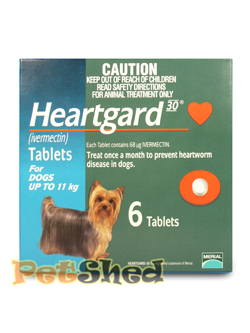 Pet Shed offers the best Heartgard value