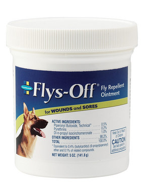 Farnam Flys Off Fly Repellent Ointment For Wounds Amp Sores