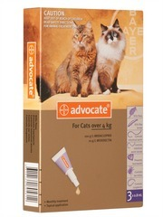 Advocate Flea Control & Heartworm Preventive