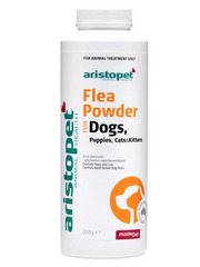 Aristopet Flea &amp; Grooming Powder with Tea Tree Oil