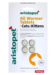 Aristopet Cat & Kitten All Wormer Tablets