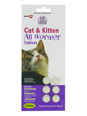 Aristopet Cat &amp; Kitten All Wormer Tablets