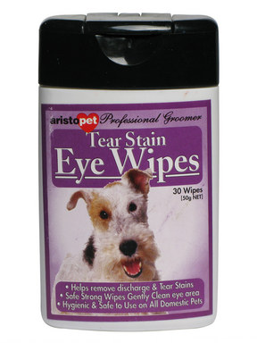 Aristopet Tear Stain Eye Wipes