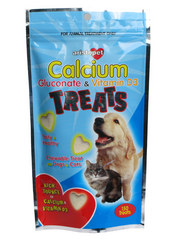 Aristopet Calcium Gluconate &amp; Vitamin D3 Treats for Dogs &amp; Cats
