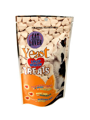 Aristopet Yeast Heart Treats for Cats