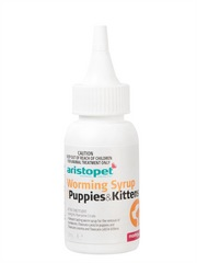Aristopet Puppy and Kitten Worm Syrup