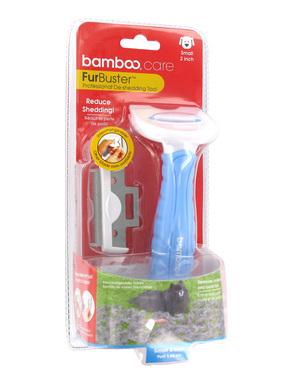 Bamboo FurBuster Dog De-Shedding Tool