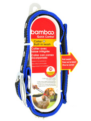 Bamboo Quick Control Collar + Built-in leash