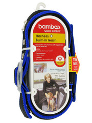 Bamboo Quick Control Harness + Built-in leash