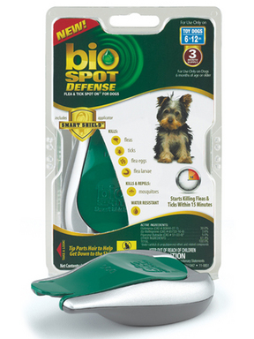 Bio Spot Defense Flea & Tick Spot On for Dog