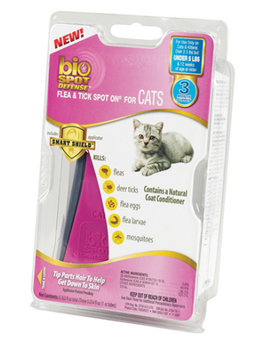 Bio Spot Defense Flea & Tick Spot On for Cat