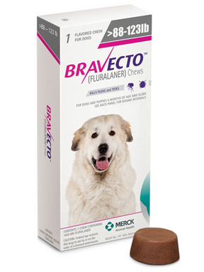 Bravecto Chewable For Dogs At Pet Shed