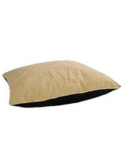 Canine Cushion Fiber and Fleece Rectangular Polyester-filled Bed