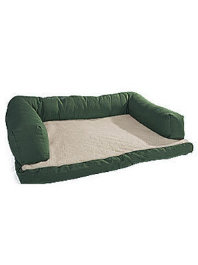 Canine Cushion Bolstered Orthopedic Sofa Bed with Fleece