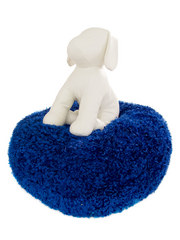Canine Cushion Uptown Shag Cuddle Ball