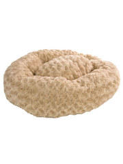 Cozy Couture Plush Donut Pet Bed