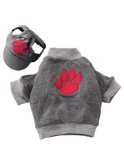 Doggles K9 T-Shirt - Gray with Paw