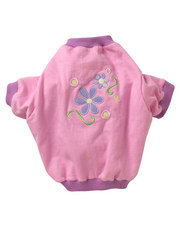 Doggles K9 T-Shirt - Pink Flower