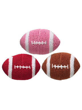 Doggles Crochet Football