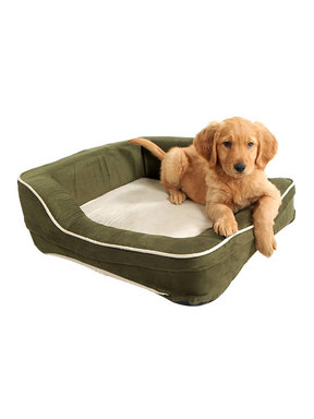 Dolce Vita Therabed Heated Rectangular Pet Bed