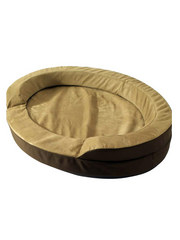 Dolce Vita Therabed Heated Oval Pet Bed