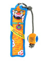 Fat Cat Toss n Pull Dog Toy
