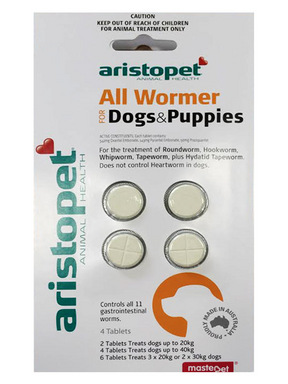 Generic Wormer Tablets for Dogs