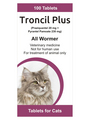 Generic Drontal for Cats<br>(Pyrantel Pamoate & Praziquantel)