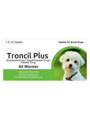 Generic Drontal for Dogs (Praziquantel, Pyrantel Pamoate and Febantel)