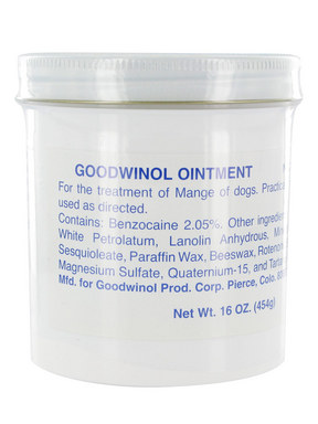 Goodwinol Ointment