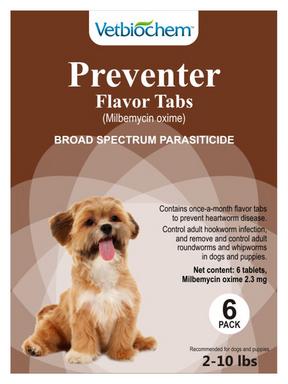 Generic Milbemycin Oxime Flavor Tabs