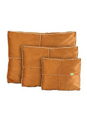 Happy Tails Reversible Shaggy Suede Pillow Bed