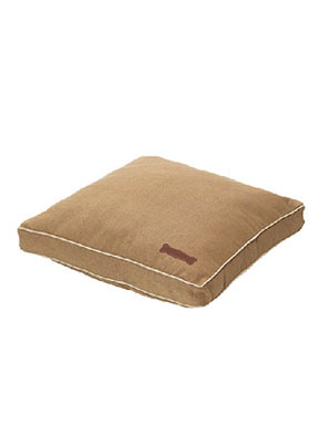 Jax and Bones Classic Custom Square Pillow Bed - Chai