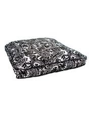 Jax and Bones Classic Custom Square Pillow Bed - Domino