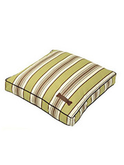 Jax and Bones Classic Custom Square Pillow Bed - Grass