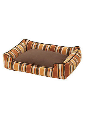 Jax and Bones Autumn Flocked Fabric Lounge Bed