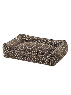 Jax and Bones Dots Flocked Fabric Lounge Bed
