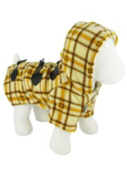 Kakadu Pet Estate Checkered Fleece Jacket