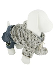 Kakadu Pet Glamor Pooch Jacket with Jeans