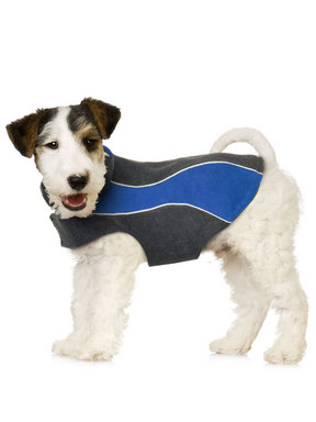 Kakadu Pet Explorer Double Fleece, in Colour Sea