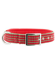 Kakadu Pet Red Rope Padded Collar