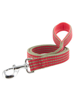 Kakadu Pet Red Rope Padded Lead