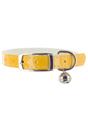 Kakadu Pet Patent Pet Leather Collar