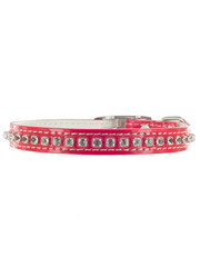 Kakadu Pet Hollywood Leather Collar with Diamonds