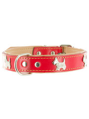 Kakadu Pet Run Scotty Run Decorative Leather Collar