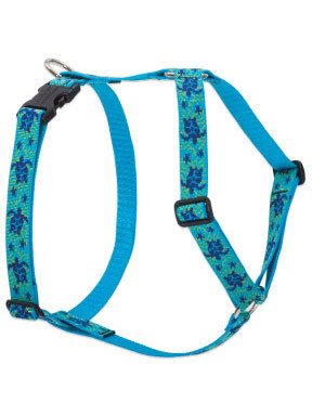 Lupine Turtle Reef Roman Harness
