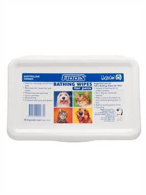 Mavlab Fido's Bathing Wipes 40pk