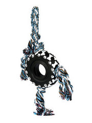 Four Knot Tire Rope Tug