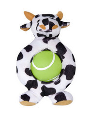 Plush Cow with Ball